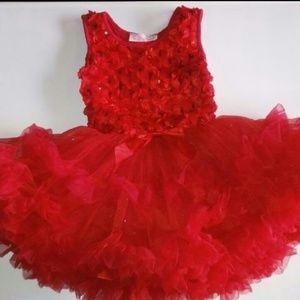 Nw Popatu Red Tutu Dress